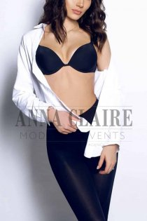 Zurich elite escort Juliana, luxury brunette GFE & social companion